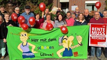 Ortsvereine, Senioren*innen und ver.di Jugend im Bezirk Weser-Ems machen sich gemeinsam auf dem Weg