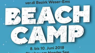 Beachcamp 2018 der ver.di Jugend Weser-Ems