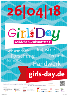 Girls' Day 2018 _Plakat