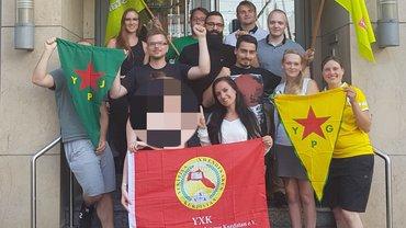 Solidarität mit YPG/YPJ