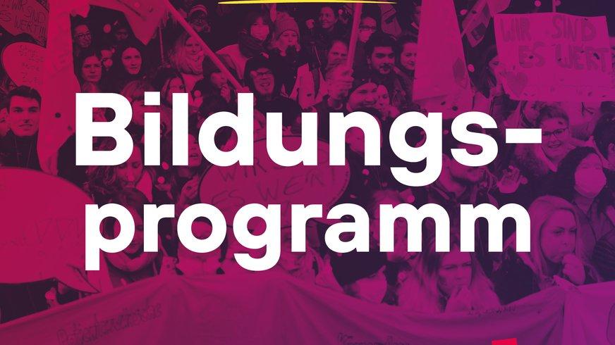 Bildungsprogramm ver.di Jugend 2021